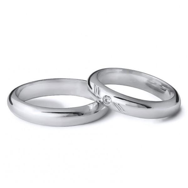 Snubní prsteny půlkulatý šířka 3,00 mm