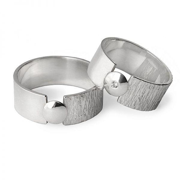 Originální snubní prsteny šířka 6,00 mm