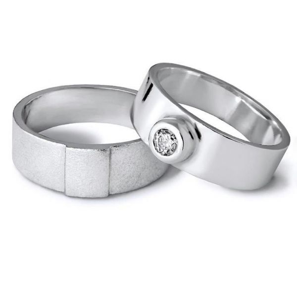 Snubní prsteny ploché 6mm